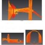 Querverbinder Ansicht 3D-Scandaten